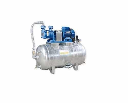 Hauswasserwerk 1,1 kW 400V 91 l/min 150L Druckbehälter verzinkt Druckkessel Set Wasserpumpe Gartenpumpe