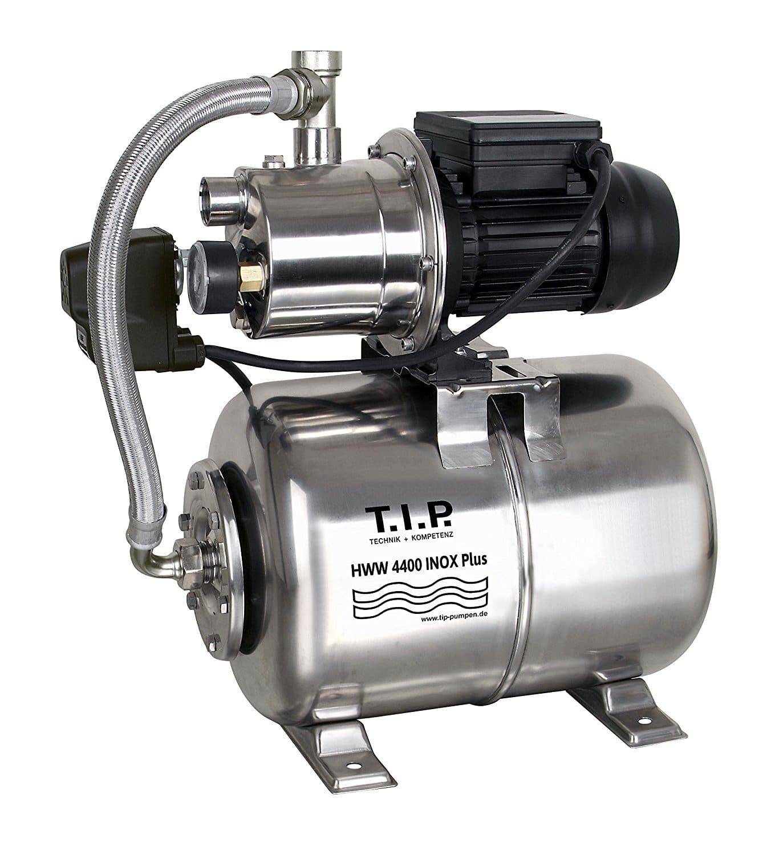 Bevorzugt T.I.P. 31167 Hauswasserwerk Edelstahl HWW 4400 Inox Plus MH95